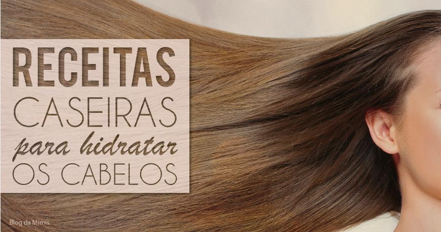 Receitas caseiras para cabelos